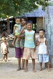 Children Myanmar Burma Stock Photos