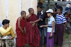 Children of Myanmar Burma Stock Photography
