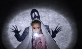 Children nightmare Stock Photos