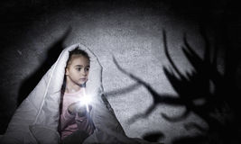 Children nightmare Royalty Free Stock Photo