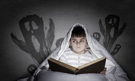Children nightmare Royalty Free Stock Photos