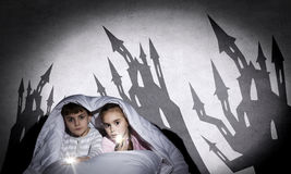 Children nightmares Stock Photography