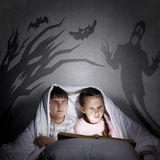 Children nightmares Royalty Free Stock Image