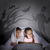 Children nightmares Stock Images