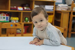 Children in the nursery Stock Photography