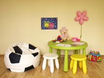 Children nursery room stock images