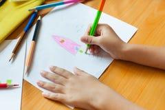 Children obraz i rysunek Fotografia Stock