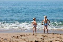 Free Children On Sea Beach Stock Photo - 21605300