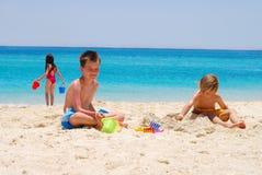 Free Children On The Beach Royalty Free Stock Photos - 2614658