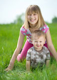 Children Outdoor Stock Photography