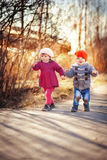 Children outdoor Stock Photo
