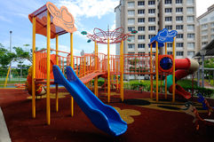 Children Outdoor Playground in Selangor, Malaysia Royalty Free Stock Photography