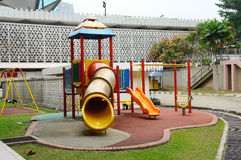 Children Outdoor Playground in Selangor, Malaysia Stock Image