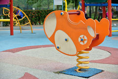Children Outdoor Playground in Selangor, Malaysia Royalty Free Stock Image