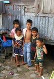 CHILDREN IN PADANG, WEST SUMATRA Stock Photos