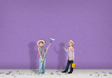 Children painters Royalty Free Stock Photo