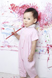 Children painting Royalty Free Stock Images