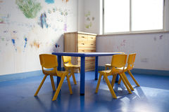 Children painting training room Stock Image