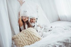 Children in pajamas Royalty Free Stock Photo