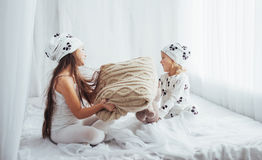 Children in pajamas Royalty Free Stock Images
