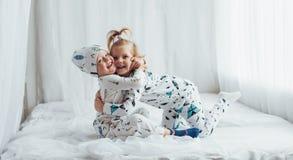Children in pajamas Royalty Free Stock Photos
