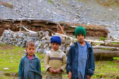Children of pakistan Royalty Free Stock Photos