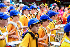 Children in parade on Australia Day Royalty Free Stock Photos