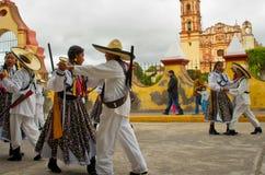 Children on Parade on Mexico Revolution Day. Stock Photos