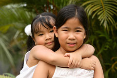 Children in a park Royalty Free Stock Photo