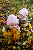 Children in a park Stock Image