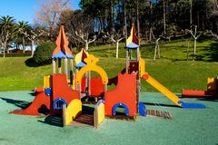 Children Park attraction Royalty Free Stock Image