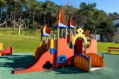 Children Park attraction Royalty Free Stock Photos