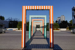 Children park in Kyoto downtown, Japan Stock Photography