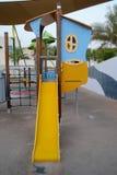 Children Park Play House Slide Royalty Free Stock Photos