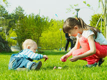 Children in the park Royalty Free Stock Images