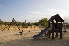 Children park on sand Royalty Free Stock Photos