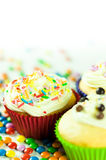 Children party cupcake Stock Photo