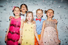 Children at party Stock Photography