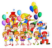 Children and party Royalty Free Stock Photo