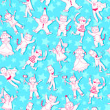 Children pattern Stock Photography