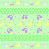 Children pattern. Greeting card background vector illustration
