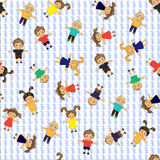 Children pattern Stock Image