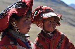 Children from Peru stock image