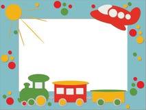 Children photo frame Stock Image