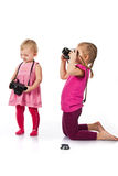 Children photographing Stock Images
