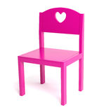 Children pink chair Stock Photos