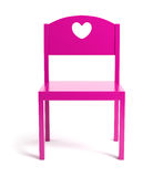 Children pink chair Royalty Free Stock Photos