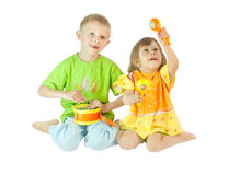 Children play Royalty Free Stock Images
