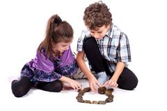 Children at play Stock Images