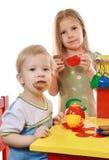 Children Play Royalty Free Stock Photos
